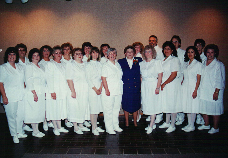 First Associate Degree Nursing class