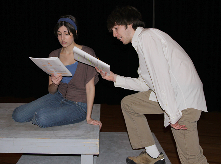 MC Drama students in rehearsal