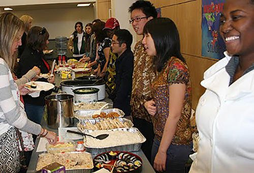 International Student Club hosting international luncheon fundraiser