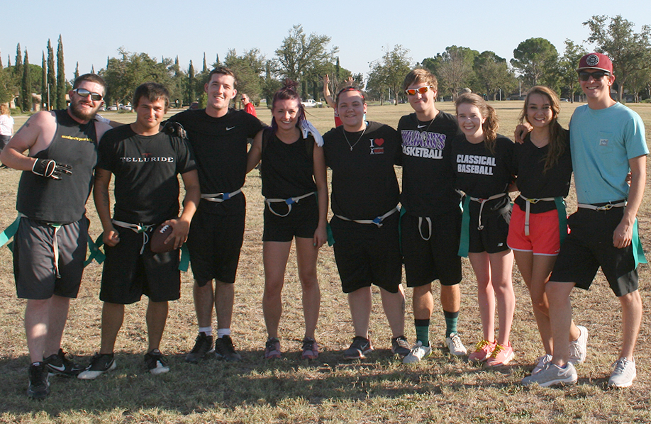Intramural Flag Football Team