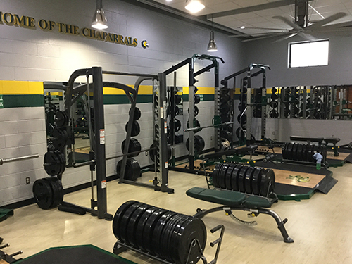 Midland College Fitness Center - Equipment