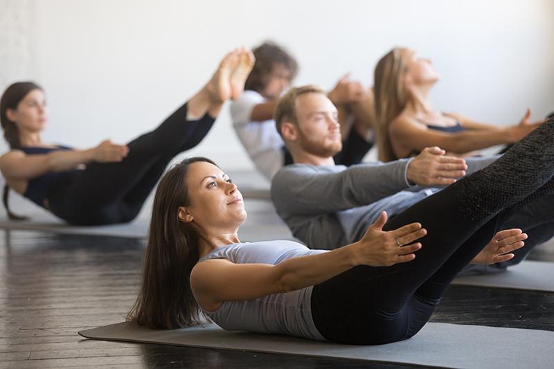 Pilates/Yoga/Stretching