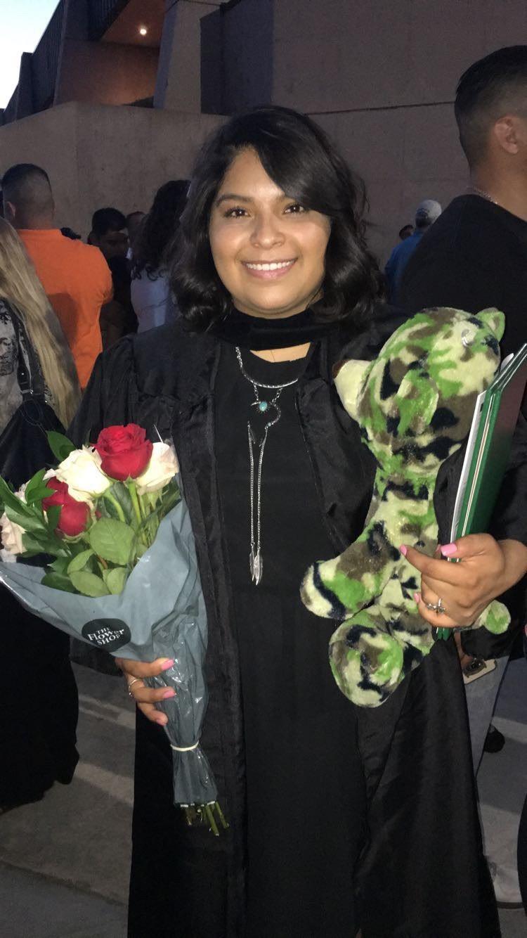 sMayra Garcia at MC graduation.