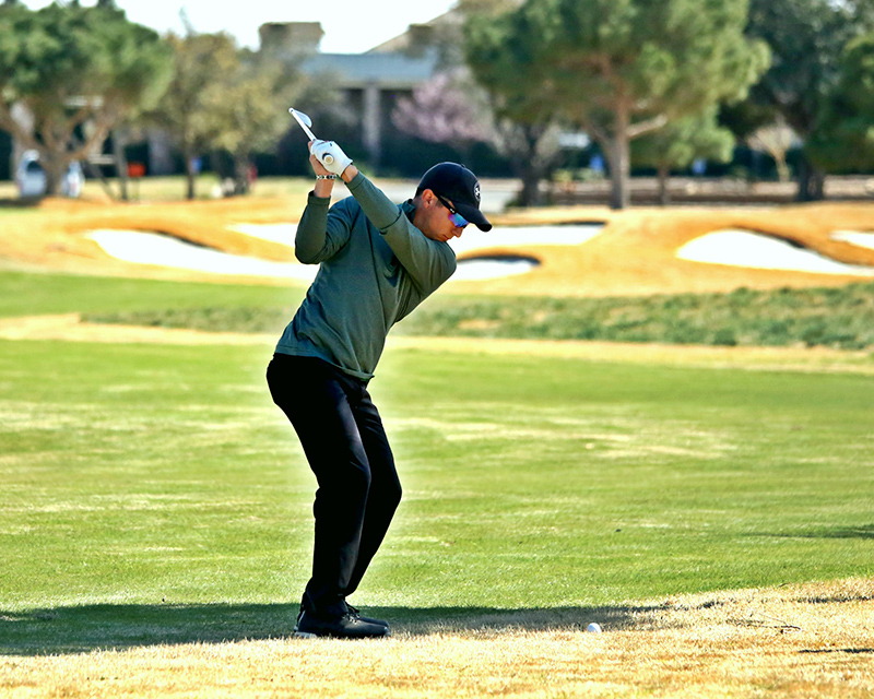 The image to use for this article. Listing image managed through RSS tab. Chaps golfer