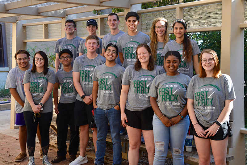 sMidland College 2018-2019 First Year Primary Care Pathway Students Front row left to right:  Ethan Martinez, Bailee Vessels, Khait Sarapao, Brady Greenlee, Aliek Ortiz, Racey Haile, Jasmine Pryor and Kerrie Brown Back row left to right:  Isaac Martinez, Kory Howell, River Atwood, Nicolas Gonzales, Jordan Williams and Cruzita Flores