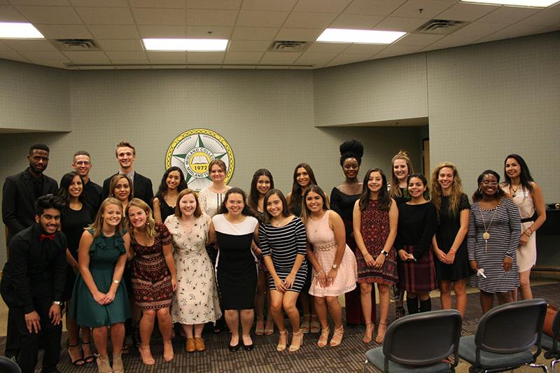 s2018-2019 members of Students in Philanthropy