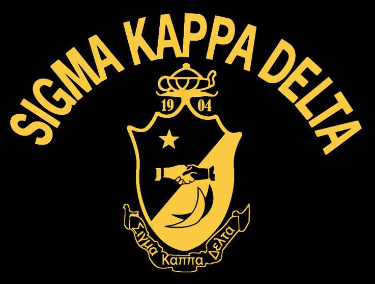 Sigma Kappa Delta Induction Ceremony