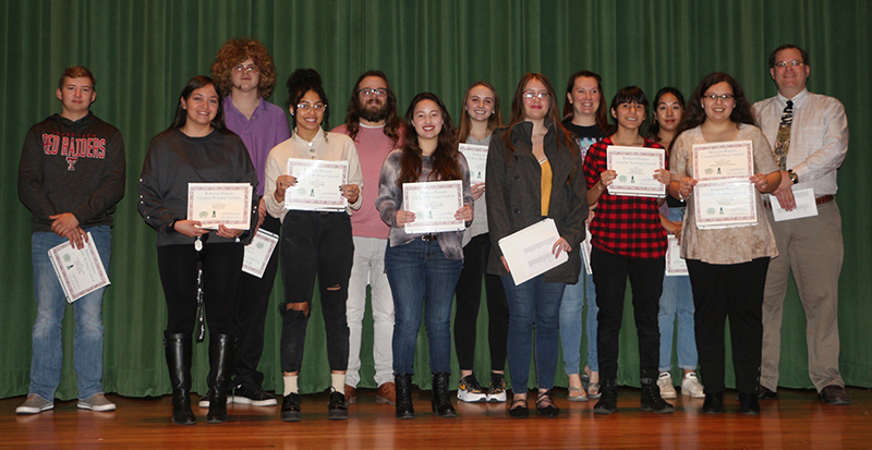 sWinners and finalists of the 2019 Rebecca Watson Creative Writing contest