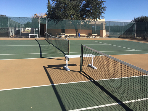 MC Tennis Center, Courts